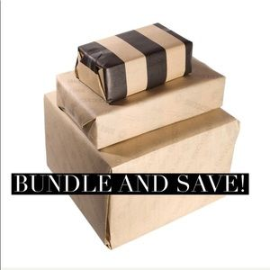 Bundle: automatic discount, pay shipping once!
